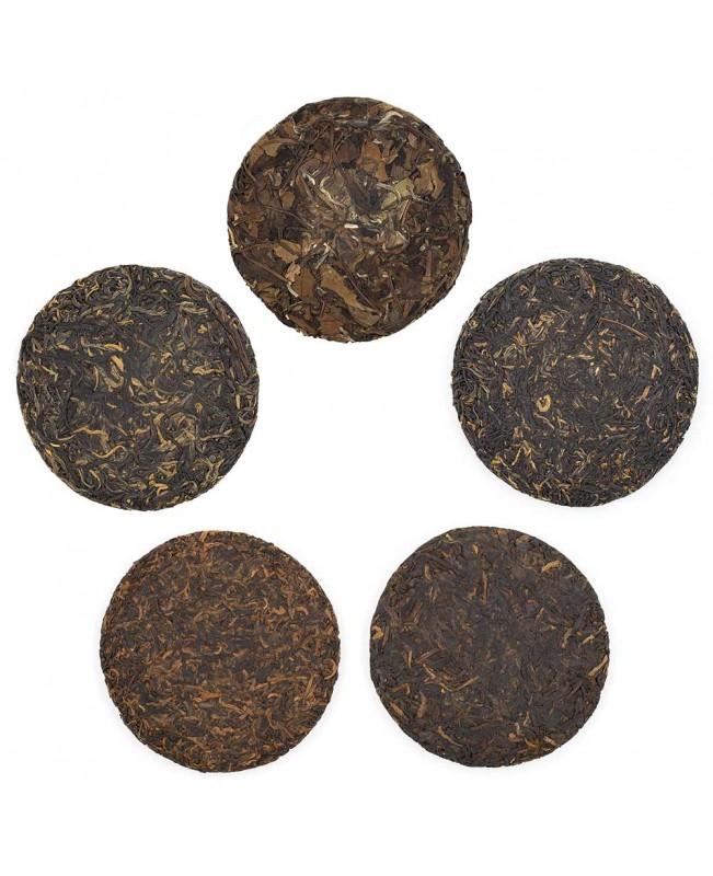 Набор чая из 5 блинов компании Teamotea