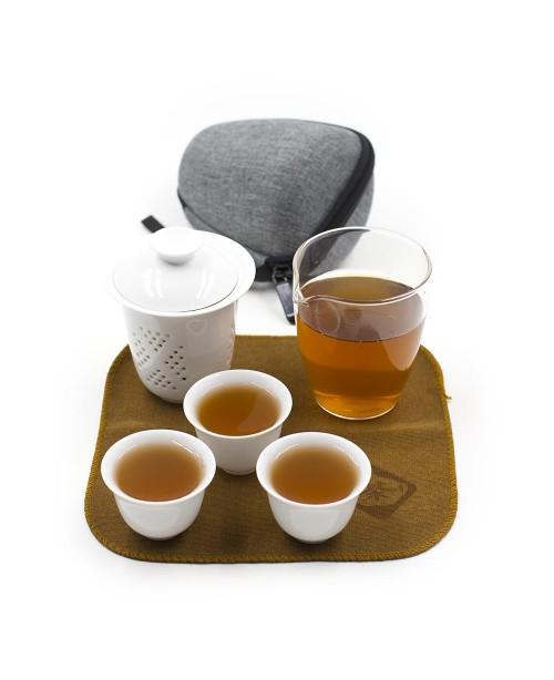 Набор чайный походный, с колбой