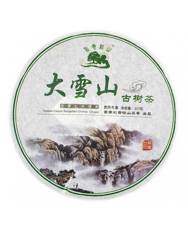 Купить Шен Пуэр - блин Да Сюэ Шань 2013 года